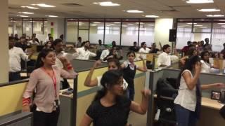 Flash MOB Dance In Oracle Mumbai