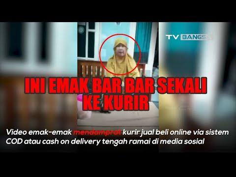 Viral Emak-emak Damprat Kurir Online Shop: Blok-G*oblok