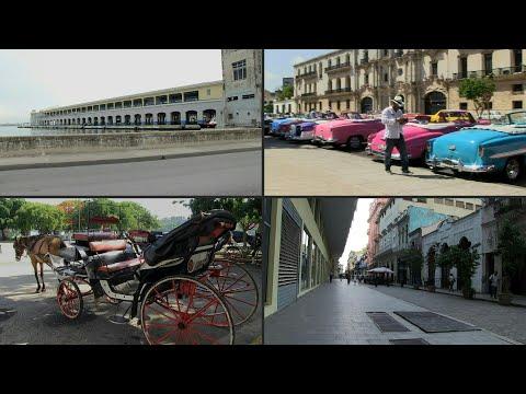 Sin cruceros de EEUU, La Habana Vieja queda huérfana   AFP