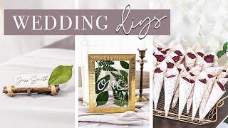 5 New Wedding DIYs | Diy Wedding Decor On A Budget