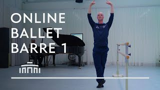 Ballet Barre 1 (Online Ballet Class) - Dutch National Ballet