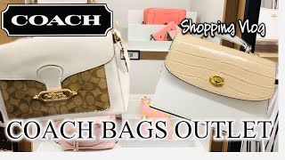 COACH OUTLET 💞 Shop With Me At Coach Outlet For Coach Bags