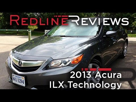 2013 Acura ILX Technology Review, Walkaround, Exhaust, & Test Drive