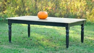Woodworking - DIY Farm Table Build - How To Plans!