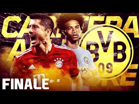 GABRIEL JESUS  AL BORUSSIA!! TUTTA L'ULTIMA STAGIONE IN LIVE!! - CARRIERA ALLENATORE BVB  FIFA18