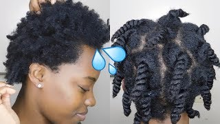 How To Keep 4C Natural Hair Moisturized For Days   Mid Week Routine