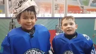 Юные хоккеисты Барыс 2011 рассказали о своей хоккейной жизни