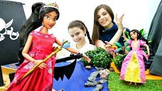 Игры с принцессой Еленой из Авалора. Видео про кукол Диснея.