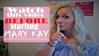 STARTING A MARY KAY BUSINESS | What they don't tell you