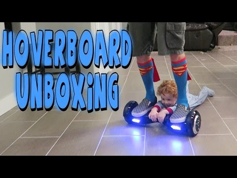 HOVERBOARD UNBOXING AND REVIEW (AKA SELF BALANCING SCOOTER)