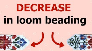 How To Decrease In Loom Beading? (Bead Loom - Step By Step Tutorial For Beginners)