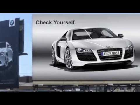 The marketing mix audi vs bmw some funny and creative for Mercedes benz marketing mix
