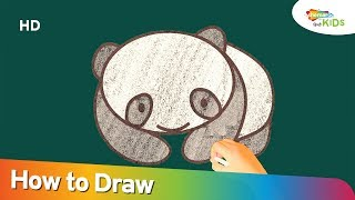 Valentine's Day Special 2018: How To Draw Cute Panda Bear Teddy Day | Drawing Videos Step By Step