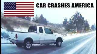 CAR CRASHES IN AMERICA #16 | BAD DRIVERS USA, CANADA | NORTH AMERICAN DRIVING FAILS