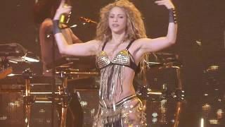 """Shakira Belly Dances"" Shakira@Capital One Arena Washington DC 8/11/18"