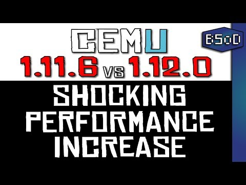 Cemu Emulator | Awesome Game Launching Utility - смотреть