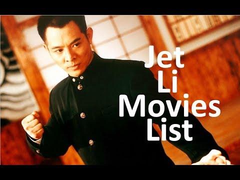 Jet li all movies list (1982 - 2018)