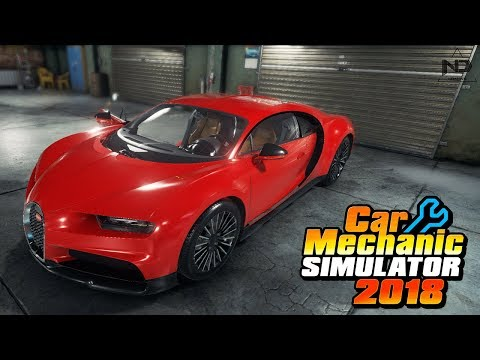 Car Mechanic Simulator #28 - Siêu xe Bugatti Divo bị vứt bỏ