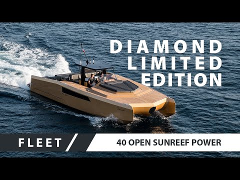 video of Sunreef 40 Open Power
