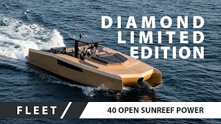 40 Open Sunreef Power Diamond Limited Edition OFFICIAL VIDEO By Sunreef Yachts