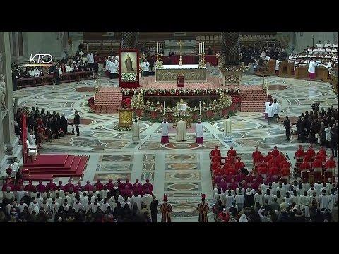 Vêpres et Te Deum avec le Pape François