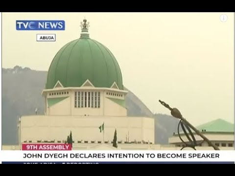 John Dyegh joins House of Reps leadership contest