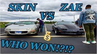 ZAE VS SKIN... 5 CARS & THE HIT!!!!!