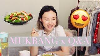 Mukbang x Q&A! Что я ем в Турции и Почему у меня татуировки l 2018