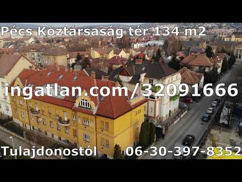 Ritka lehetőség Pécsen a Köztársaság téren