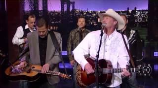 """[HD] Alan Jackson - """"Blacktop"""" 10/29/13 David Letterman"""