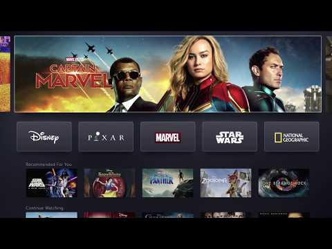 Disney+ Investor Day Demo