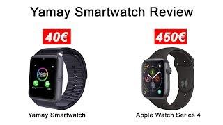 Smartwatch für 40€?? YAMAY Smartwatch Review (Fake Applewatch?)