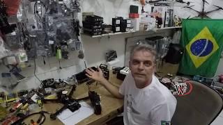 DRONE BATE NO MORRO CRASH com 2.4 wanzam fpv