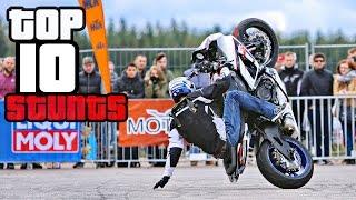 TOP 10 Best Motorcycle Tricks & Combos at StuntArt 2016