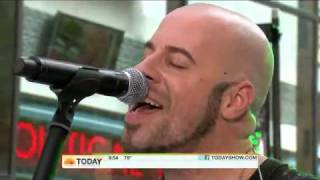 Daughtry performing No Surprise on the Today Show - 8/20/2010