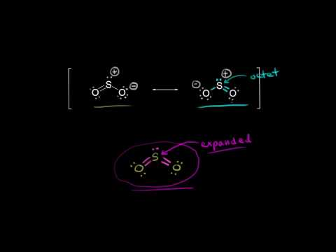 Sulfor dioxide Lewis dot structure for SO2 (video) Khan Academy