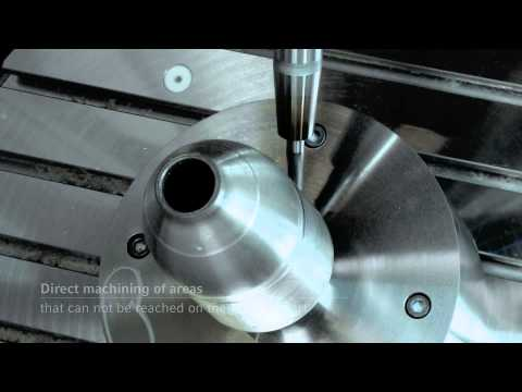 Laser Deposition Welding And Precision Milling In One Awesome Machine