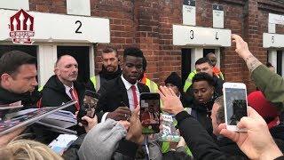 Pogba, De Gea, Solskjaer Player Cams | Fulham Vs Manchester United 0-3 Reaction