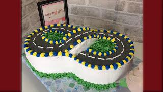 Sekiz Şeklinde Ralli Pasta | Rally Cake in Eight Form
