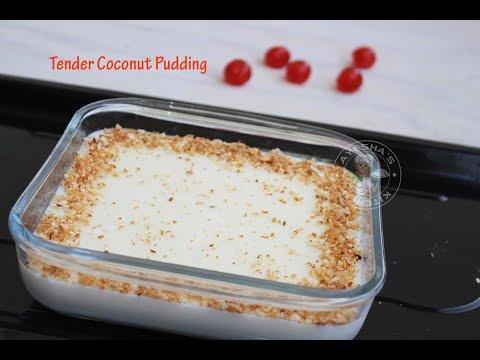 Elaneer Pudding Tender Coconut Pudding Karikku Pudding Easy