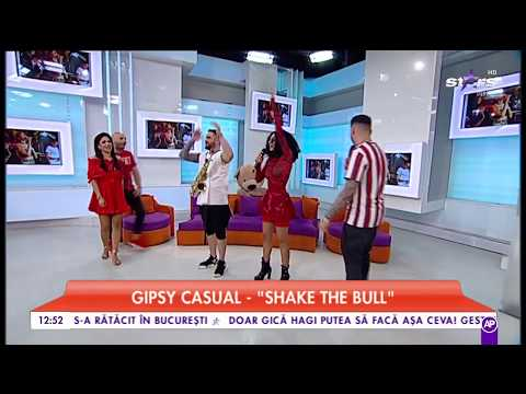 Gipsy Casual – Shake the bull [Star Matinal De Weekend] Video