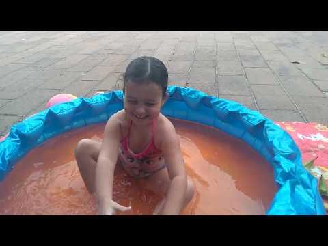 Diversão na piscina!!!