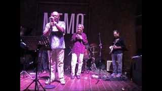 "Ronnie Jones singing with the ""BIANCOTRIO"" (Open Blues Band)"