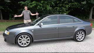 Here's Why the 2003 Audi RS6 Is Amazing and Horrible