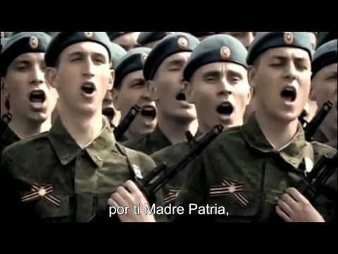 Любэ - За тебя Родина Мать Lyube - Por ti Madre Patria Subti