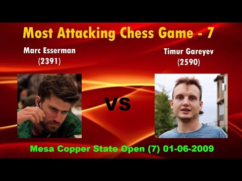 Most Attacking Chess Games   GJ Chess