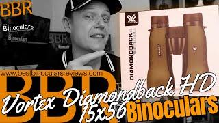 Vortex Diamondback HD 15x56 Binoculars - Unboxing, First Impressions & Win a Vortex Cap!