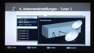 dlmTV Tutorial: HDTV-Receiver VANTAGE VT-600S