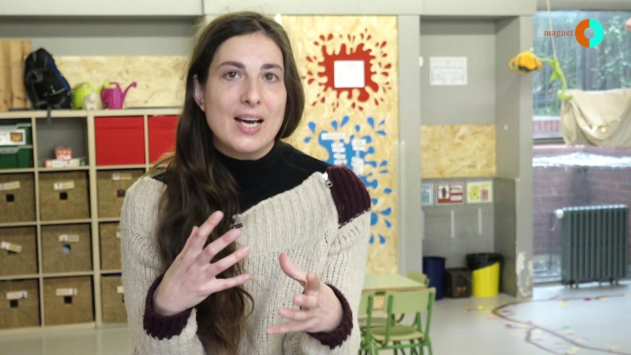 Judit Onsès, formadora Magnet de l'escola Mas Casanovas