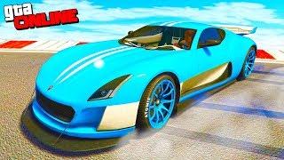 GTA 5 Online (Гонки) - Новый Мощный Суперкар!